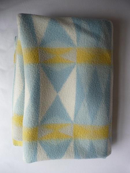 wollen deken geometrische vormen 1