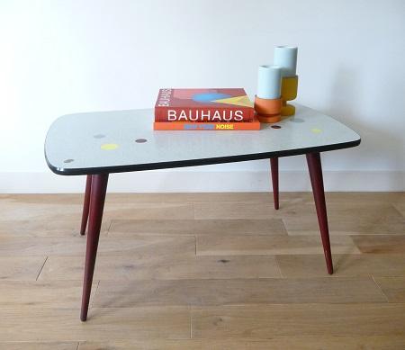 jaren '50 Zweedse salontafel 1