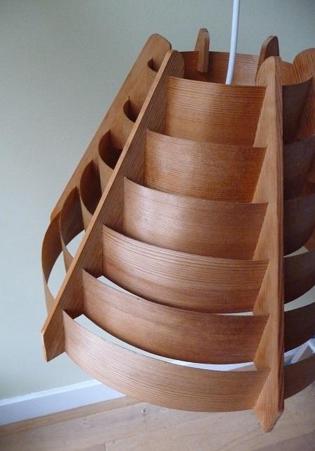 plywood hanglamp van Hans Agne Jakobsson 2