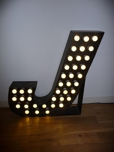 LED lamp 'J' 3