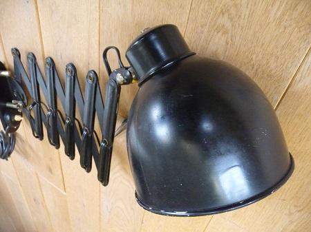 jaren 60 schaarlamp industriële look 4
