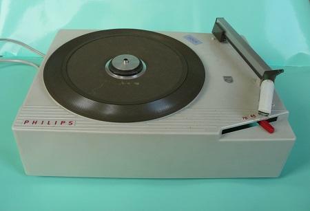 compacte platenspeler Philips 1