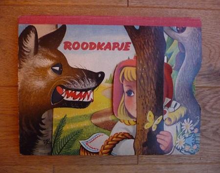 pop-up boek Roodkapje uit 1958 1