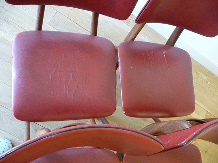 4 Wébé stoelen, Louis van Teeffelen 5