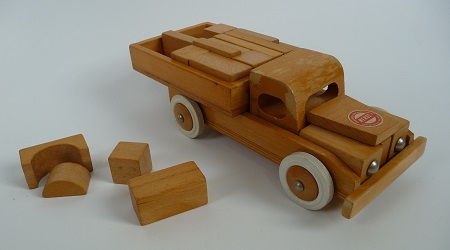 jaren '60 speelgoedauto Heros 1