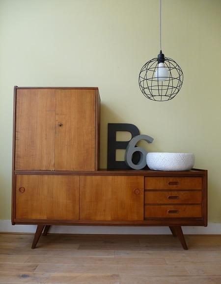 Van oude dingenjaren 60 dressoir tv meubel for Vintage meubels