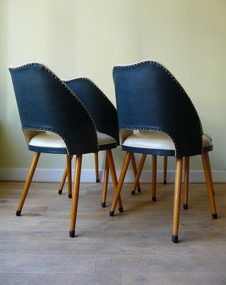 vintage Thonet stoelen 1