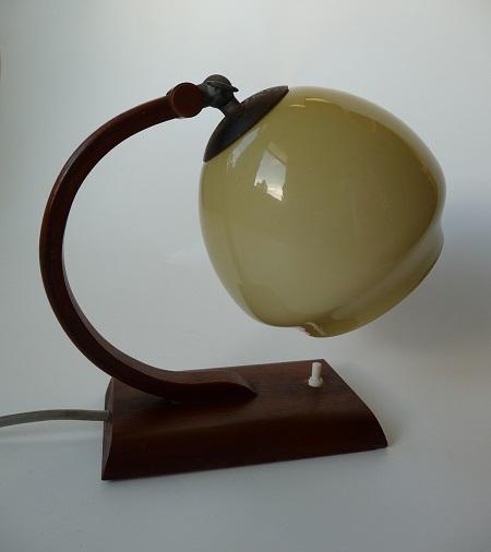art deco tafellampje 1
