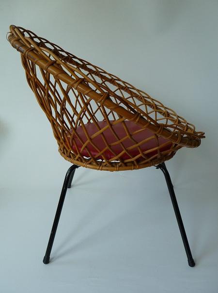 rotan stoel jaren 50 3
