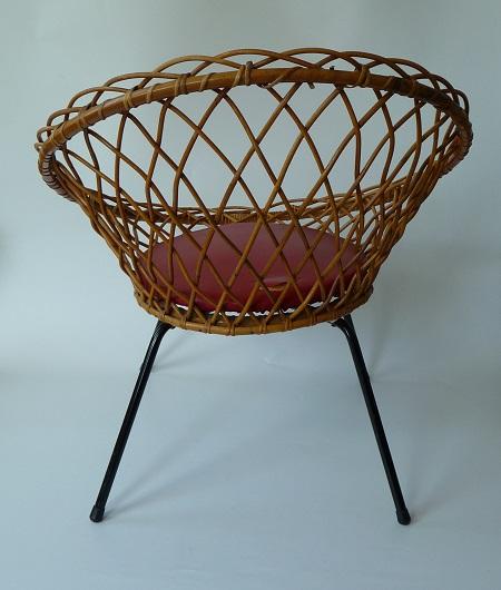 rotan stoel jaren 50 4