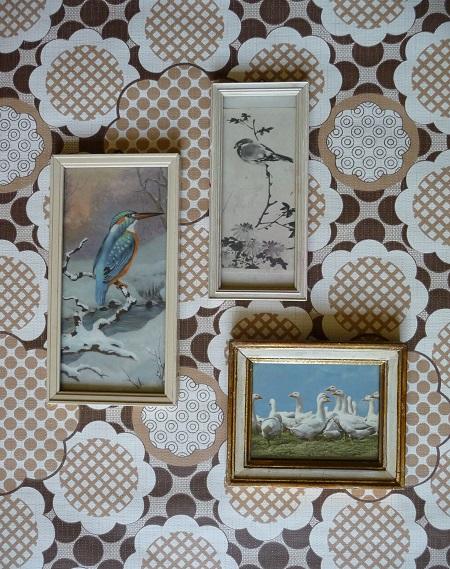vintage lijstjes met vogels 1