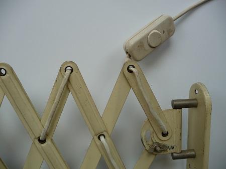industriële schaarlamp Bauhaus stijl 10