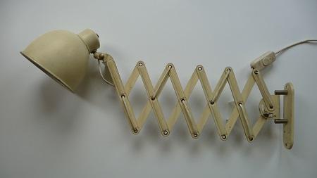 industriële schaarlamp Bauhaus stijl 8