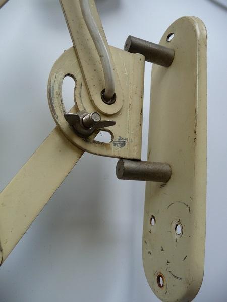 industriële schaarlamp Bauhaus stijl 9