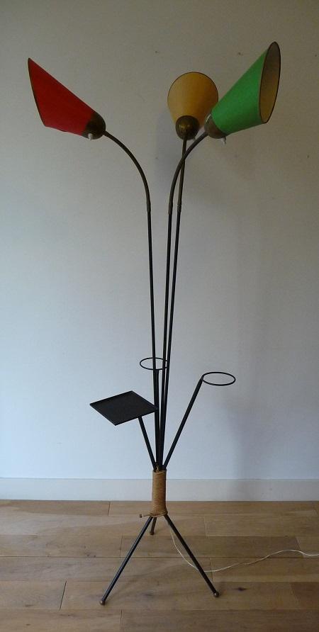 jaren 50 vloerlamp 2