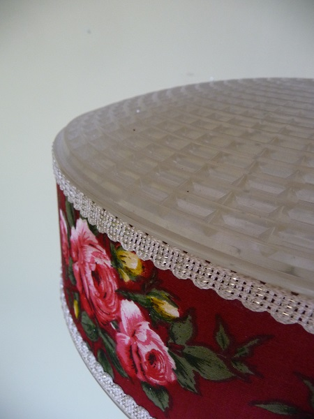 vintage hanglamp bloemenprint 3