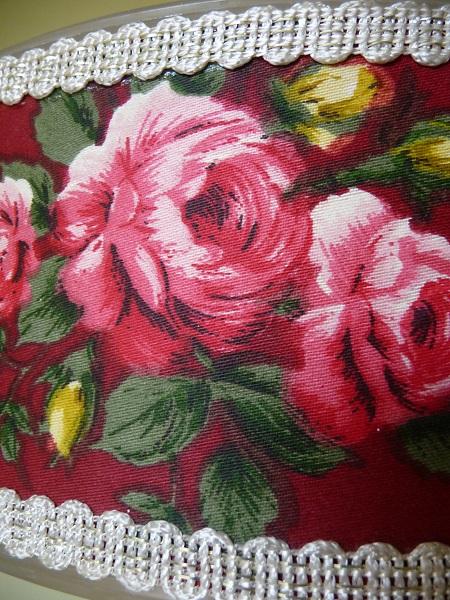 vintage hanglamp bloemenprint 4