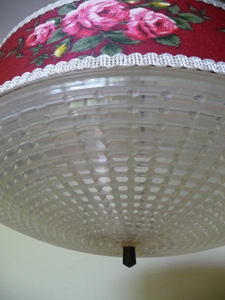 vintage hanglamp bloemenprint 5