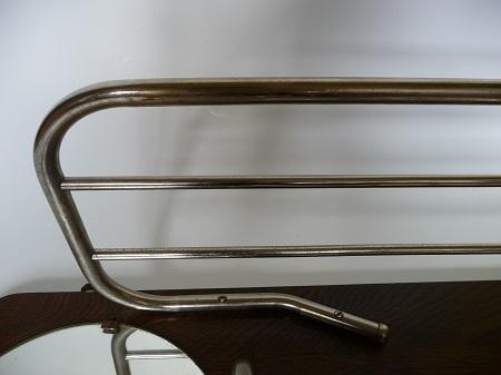 chromen buisframe kapstok met spiegel jaren 50 4