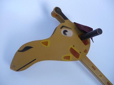 jaren 50 speelgoed giraffe 1