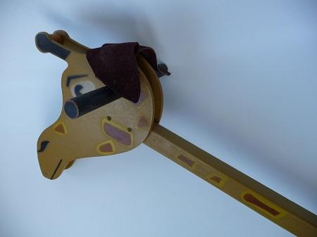 jaren 50 speelgoed giraffe 2