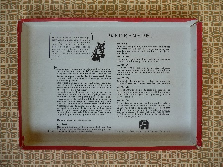 jaren 50 wedrenspel Jumbo 5