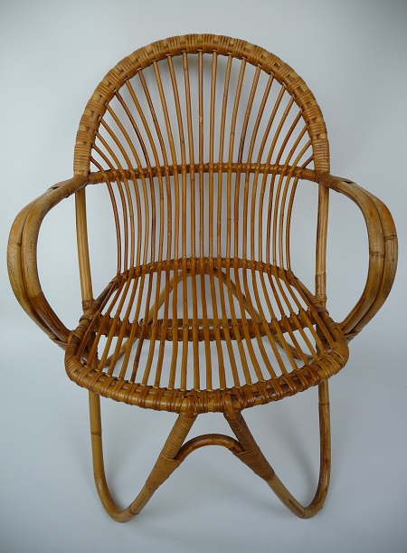 rotan fauteuil jaren 50 3
