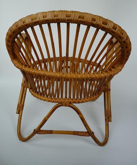 rotan fauteuil jaren 50 4
