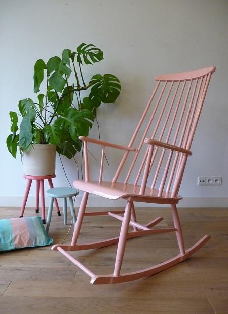 schommelstoel jaren 50 1
