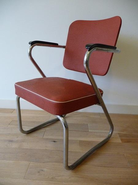 buisframe stoel jaren 50 1