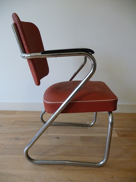 buisframe stoel jaren 50 3