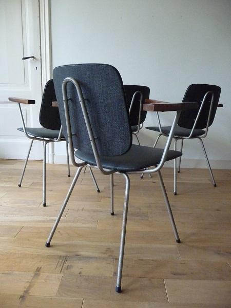 industriële stoelen jaren 60 1