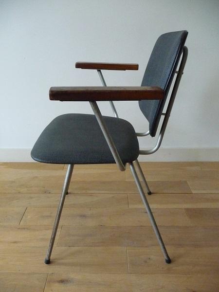 industriële stoelen jaren 60 4