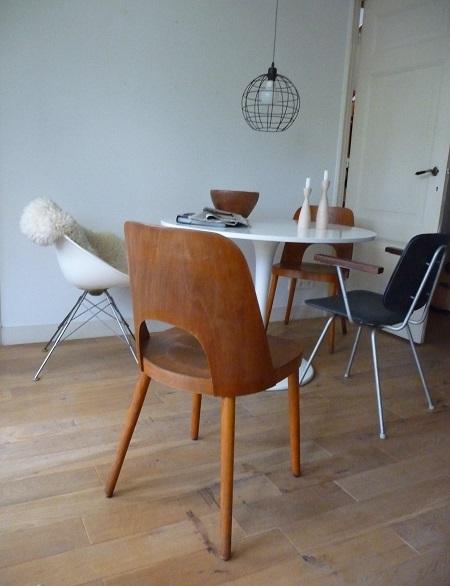 set Thonet stoelen Oswald Haerdtl 1