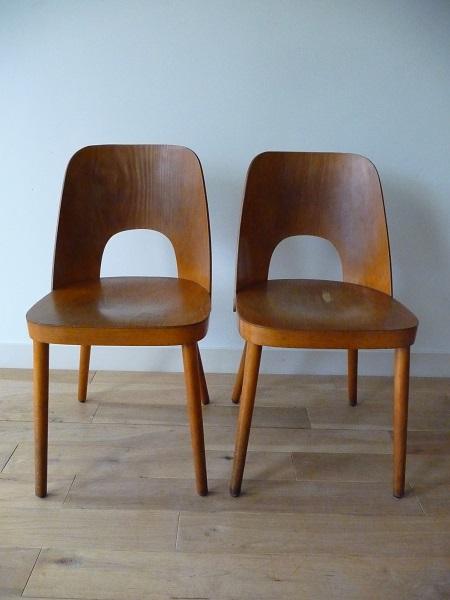 set Thonet stoelen Oswald Haerdtl 2