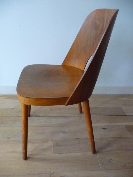 set Thonet stoelen Oswald Haerdtl 4