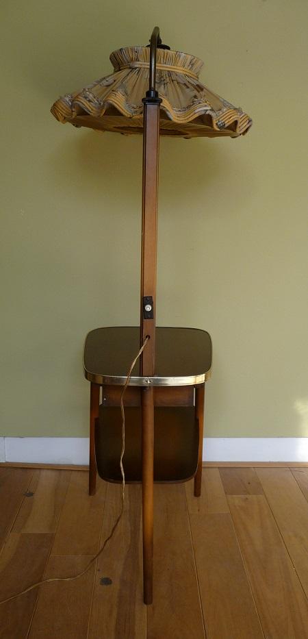 staande lamp met tafelltje jaren 50 4