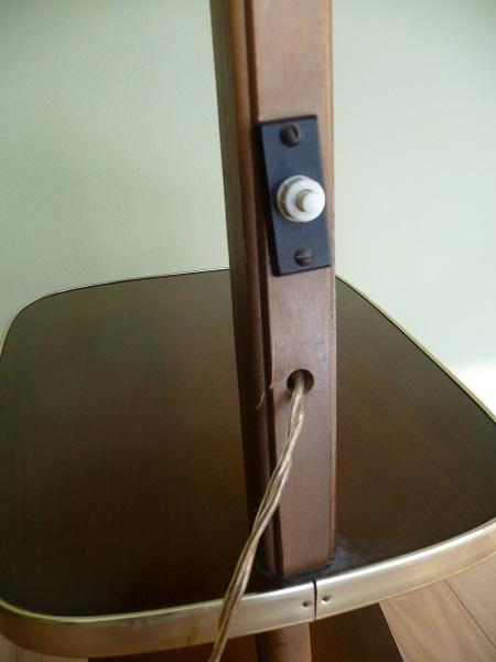 staande lamp met tafelltje jaren 50 5