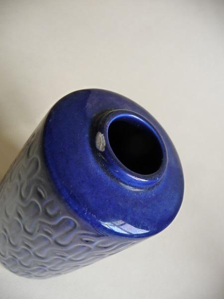diverse blauwe Scheurich vazen 7