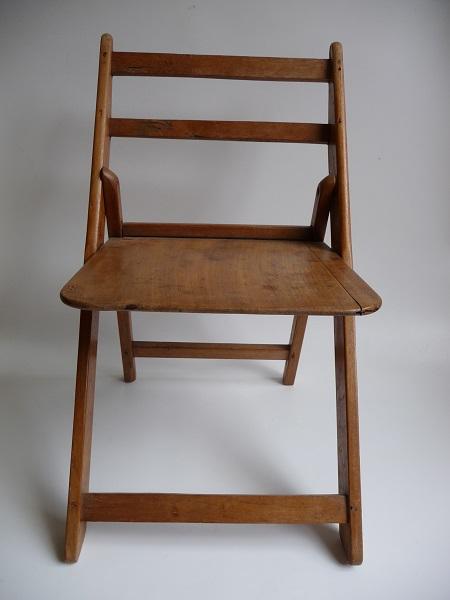 oude, Franse vouwstoel  2