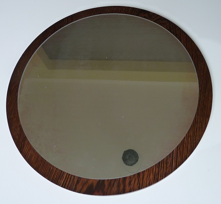 palissander spiegel jaren 60 1