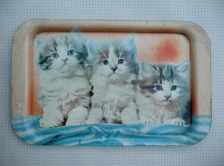 dienblad kittens jaren 50 1