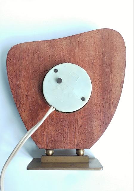 elektrische tafelklok NUFA jaren 50 8