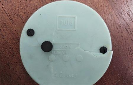 elektrische tafelklok NUFA jaren 50 9