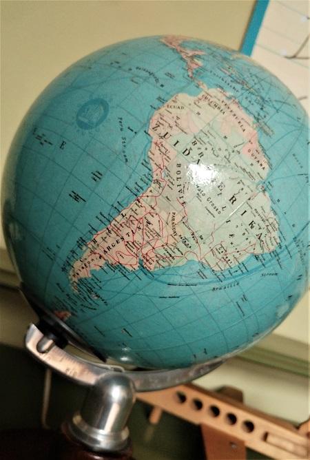 globe met licht jaren 70 4