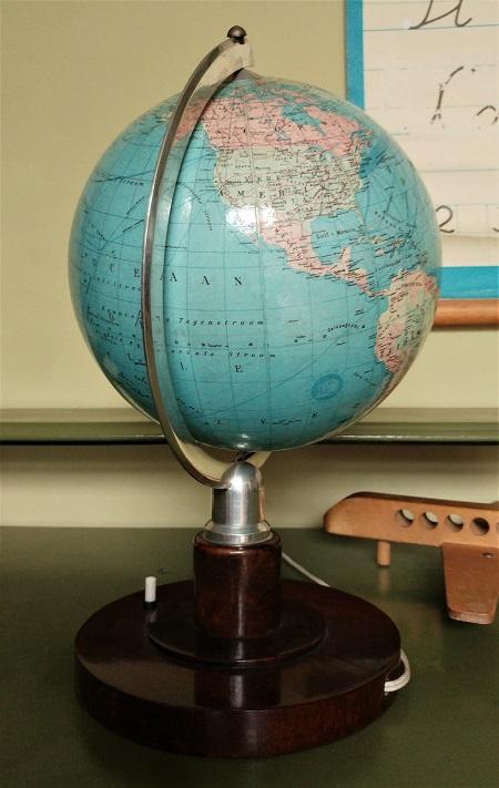 globe met licht jaren 70 6