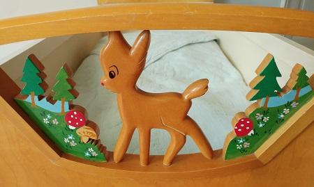 jaren 50 ledikant Bambi 3