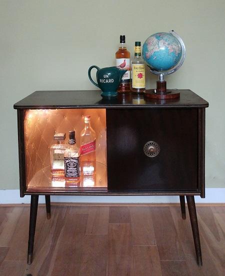 drankenkastje jaren 60 1