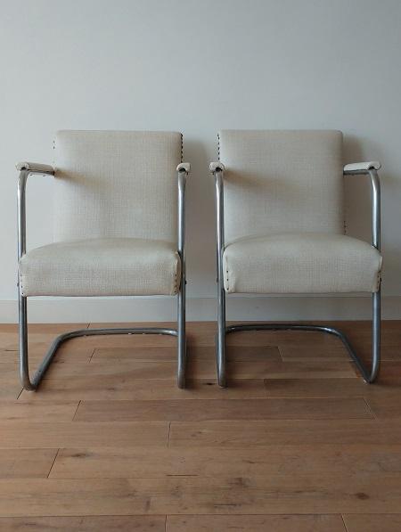 set buisframe stoelen jaren 50 2