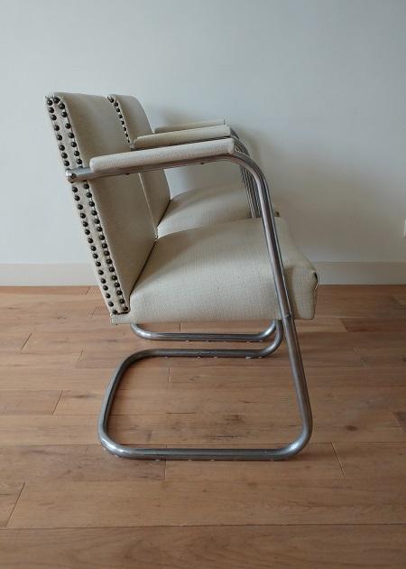 set buisframe stoelen jaren 50 4
